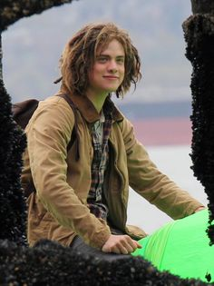 Tyson from Percy Jackson...he is my favorite in the books and will be in the films, I can tell :) xx