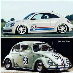 """ultraestupendous: """" @Regrann from @eu_amo_fusca - Novo ou antigo? Qual seu preferido? Follow /Sigam 👉 @eu_amo_fusca 👊 👊 👊 🚗 🚗 #fusca #bug #beetle #vosvo #escarabajo #kafer #vw #volkswagen #volks..."""