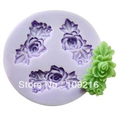 Aliexpress.com : Buy Hot sale!!!New Mini 3.3x1.8x0.7cm 3 Flower (F0163) Silicone Handmade Fondant/Candy DIY Mold Cake Decorating from Reliable Silicone Fondant Mold suppliers on Silicone DIY Mold and  Home Supplies Store $5.68