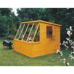 goodwood iceni professional tongue and groove shed 8 x 6 - Garden Sheds B Q