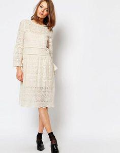 Modest White Dresses