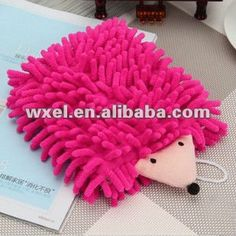 Car Wash Mitt/Microfiber Mitt Super Absorbent/Micro fiber chenille Hand Towel Carton Animal Hooked $0.5~$1