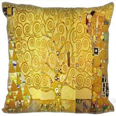 Gustav Klimt Custom Made Hugging Body Pillow Cover Case Two Sides no fill