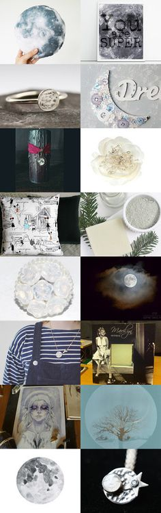 ★ Save It For A Full Moon ★ by kelly spider on Etsy--Pinned+with+TreasuryPin.com