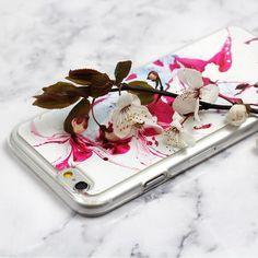 Piękne marmurowe etui na telefon w odcieniu fuksji. Więcej na http://www.etuo.pl/etui-na-telefon-marble-collection.html
