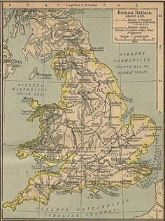 The native tribes of Roman Britain.