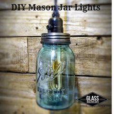 DIY Mason Jar Pendant Light KitMason Jar Lighting Made Simple!  Our kit provides you everything you need just add your favorite Mason Jar.DIY Mason Jar Kit Includes:• Mason Jar Top – Antique Black Finish, Pre-Drilled lamp socket hole perfectly centered (No Drilling) and Heat Vents to allow hot