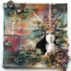 Secret - 12x12 Collage on Canvas | Flickr - Photo Sharing!