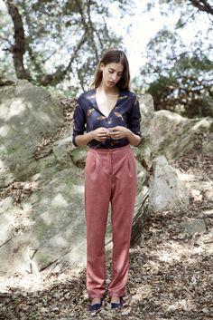 Shirt / Trousers / Magnolia Antic