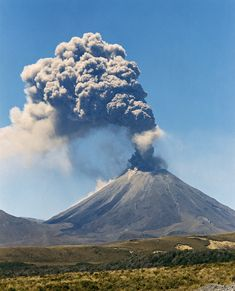 Mt Ngaruahoe, Central Plateau, North Island, New Zealand New Zealand North, New Zealand Travel, Volcan Eruption, New Zealand Landscape, Natural Phenomena, South Island, Natural Wonders, Amazing Nature, Beautiful Landscapes
