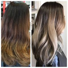 Color correction on coarse thick Asian hair, first visit.