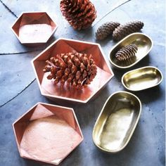 Set of 3 Metallic Dishes - View All Sale - Shop By Category - SALE