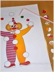 Afbeeldingsresultaat voor spelletjes thema circus