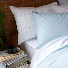 A Brooklinen Luxe Core Sheet Set plus 1 Luxe Duvet Cover & 2 extra Luxe Pillowcases - in your choice of patterns.