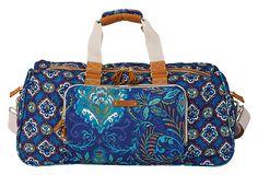 Large Duffel Bag, Indigo on OneKingsLane.com