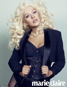 Christina Aguilera- not a product but my idol.