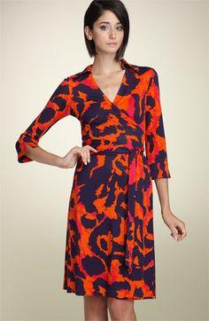 Diane von Furstenberg 'Justin' Wrap Dress | Nordstrom