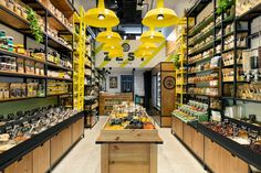 ZEST- Nature Deli by Naama Zohar / Interior planning and design, Tel-Aviv – Israel