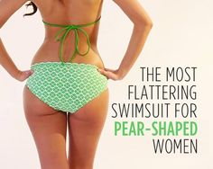 The Most Flattering Swimsuit for Pear-Shaped Women | Women's Health Magazine