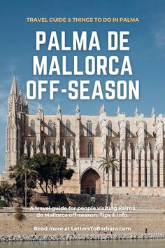 While most people visit Palma de Mallorca during summer, the beautiful Balearic island is a must-destination also off-season. In this travel guide, you'll find tips about the best things to do in Palma de Mallorca, plus loads of tips and local addresses. #Spain #travel #traveltips #wanderlust #adventure #Palma Portugal Travel, Spain Travel, Travel Europe, Beautiful Places To Visit, Cool Places To Visit, Places To Travel, European Travel Tips, European Destination, Top Cities In Spain
