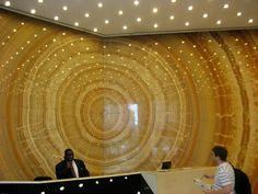 Onyx themed lobby in NYC; via Molly Luetkemeyer, M. Design Interiors