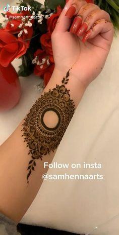 Henna Tattoo Designs Simple, Latest Henna Designs, Floral Henna Designs, Henna Designs Feet, Legs Mehndi Design, Mehndi Designs 2018, Mehndi Designs For Beginners, Modern Mehndi Designs, Mehndi Designs For Girls