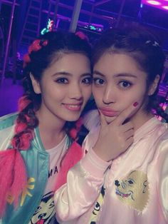 Kaede & Kawamoto Ruri #Happiness Japanese Girl Group, Girls Dream, Kpop, T Shirts For Women, Celebrities, Happy, Happiness, Style, Swag