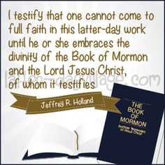 """""""Why do we need the Book of Mormon?"""" April Young Women lesson helps - much more than just handouts! Activity ideas, lesson helps, and more! www.Latter-DayVillage.com #LDS #LDV #LDSYW"""