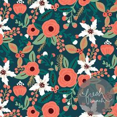 inga wilmink | Christmas Floral by Inga Wilmink for A Fresh Bunch