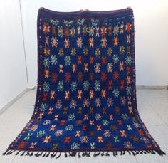 Beautiful-Colorful-Vintage-Moroccan-Handmade-Rug-10-039-4-x-6-039-4-Beni-Ourain