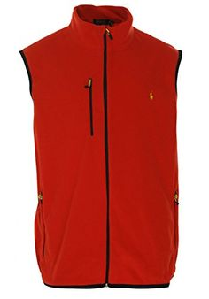 POLO RALPH LAUREN Polo Ralph Lauren Men'S Fleece Mockneck Performance Vest. #poloralphlauren #cloth #