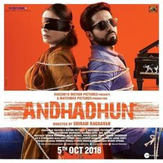 Tabu unveiled the new poster of her upcoming film 'AndhaDhun' New Hindi Movie, Hindi Movies Online, Free Movie Downloads, Full Movies Download, Audio Songs, Movie Songs, 2018 Movies, Hd Movies, Movies Free