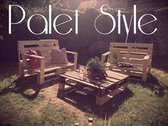 Lelskii garden lounge #Lounge, #Pallets, #Sofa