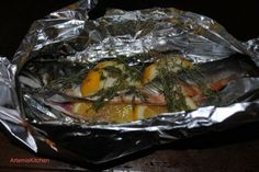 Trout Tin Foil Recipe - What's your favorite tinfoil recipe?