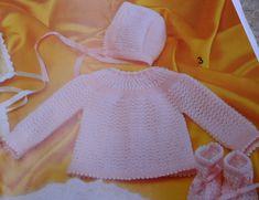 Tricotando carinho: Conjuntinho Mellina