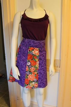 Short and Sassy Ladies Skirt by sewmeamemory on Etsy, $40.00
