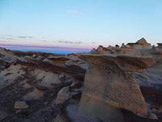 Blue hour in the Bisti Badlands NM [OC][4896 x 3672]