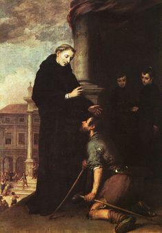 Saint Thomas of Villanueva Distributing Alms by Bartolomé Esteban Murillo