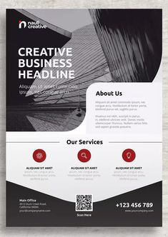 Corporate Business Flyer Template AI, PSD, EPS. Download