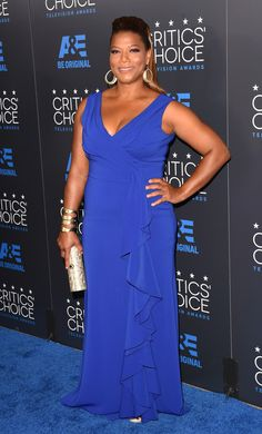 Queen Latifah Photos - Actress Queen Latifah attends the Annual Critics' Choice Television Awards at The Beverly Hilton Hotel on May 2015 in Beverly Hills, California. - Queen Latifah Photos - 880 of 3073 Queen Latifah, Plus Size Dresses, Plus Size Outfits, Curvy Fashion, Plus Size Fashion, Beautiful Dresses, Nice Dresses, Gorgeous Dress, Tv Awards