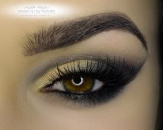 Check out this stunning look by Make-up-by-Natalia using Makeup Geek's New Years Eve Pigment.