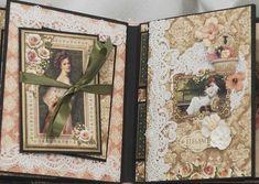 Graphic-45-Portrait-Of-A-Lady-Handmade-Scrapbook-Mini-Photo-Album-by-Terry Graphic-45-Portrait-Of-A-Lady-Handmade-Scrapbook- - Scrapbook.com