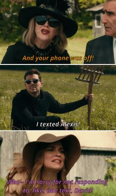 """When Alexis forgot to tell her family David ran away to be with the Amish. 28 """"Schitt's Creek"""" Moments That Are Actually Hysterical Movie Memes, Movie Tv, Schitts Creek, Little Bit, Reality Tv Shows, Tv Quotes, Theme Song, Best Shows Ever, How To Do Yoga"""