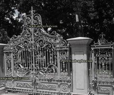Ekskluzywna brama barokowa