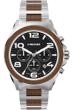 HEAD Heritage Watch - Gents Quartz Chronograph   <   Time is the one thing you can't buy or buy back  www.planetoutrage.co.uk