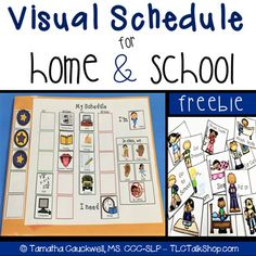 Visual Schedules For School Worksheets & Teaching Resources Visual Schedule Preschool, Visual Schedule Autism, Preschool Special Education, Visual Schedules, Visual Schedule Printable, Social Skills Autism, Autism Resources, Learning Resources, Master Schedule