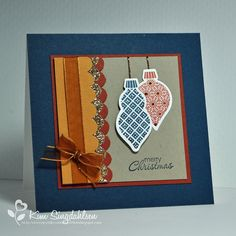 FAB Friday colors by atsamom, via Flickr.  All supplies by Stampin' Up.