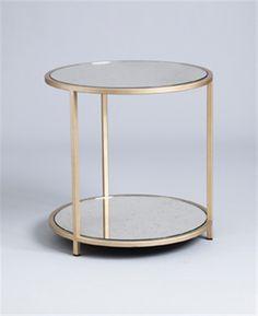 Madison round lamp Table - Tom Faulkner