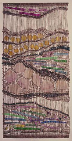 American weaver Ted Hallman.