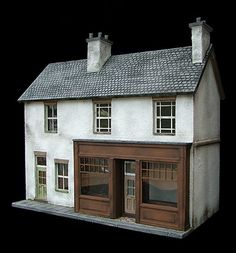 Credit: Petite Properties/Kensington Dollshouse Festival/ A doll's house by Petite Properties. Run by Fiona Broadwood, it specialies in unusual scales and even makes houses to commision.